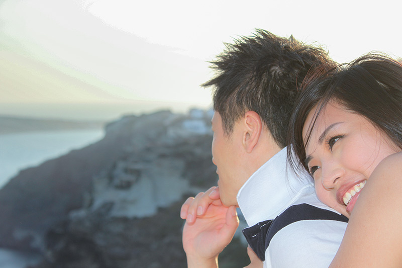 couple from hong kong in love each other