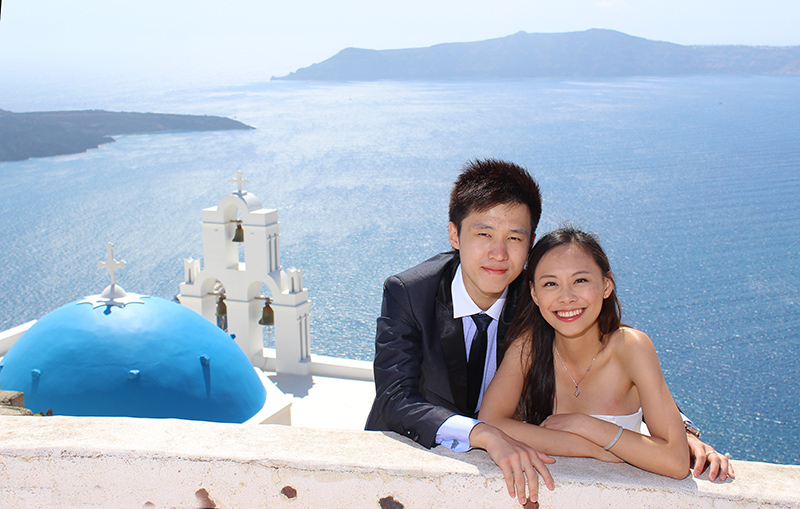 chinese couples love greece