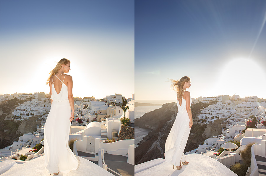 professional photography in Santorini
