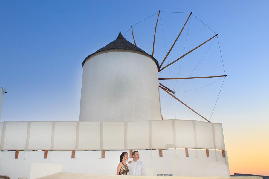 Windmill santorini