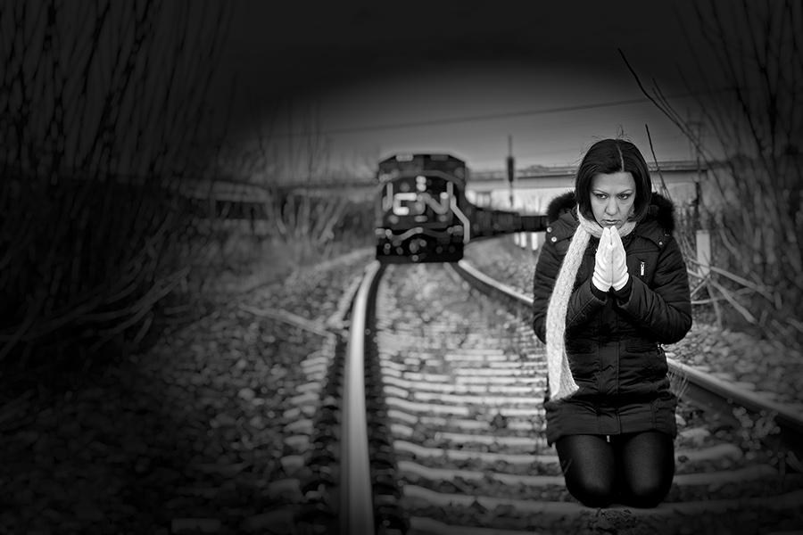 praying for life in railways