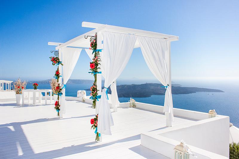 Wedding Venue Firostefani Santorini