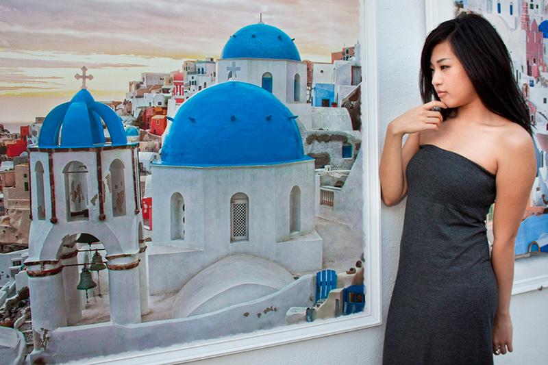 photoshoot santorini greece