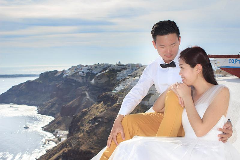oia pre wedding photography