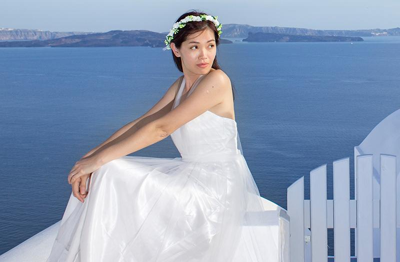 prewedding photography santorini