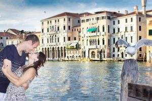Venice Engagement Photo Shoot and Proposal of Marriage