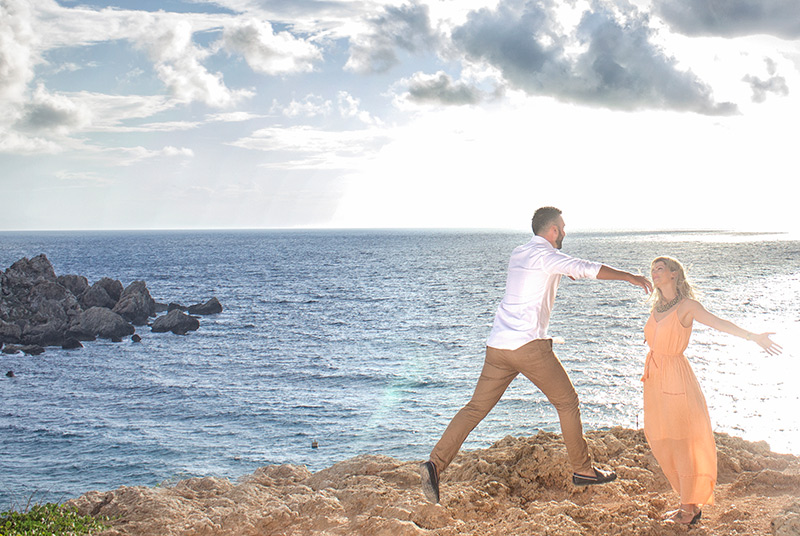 Beautiful Maltese couple photo session