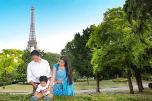 Family photography in Paris – the city of light