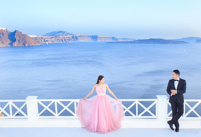 prewedding photoshoot Oia
