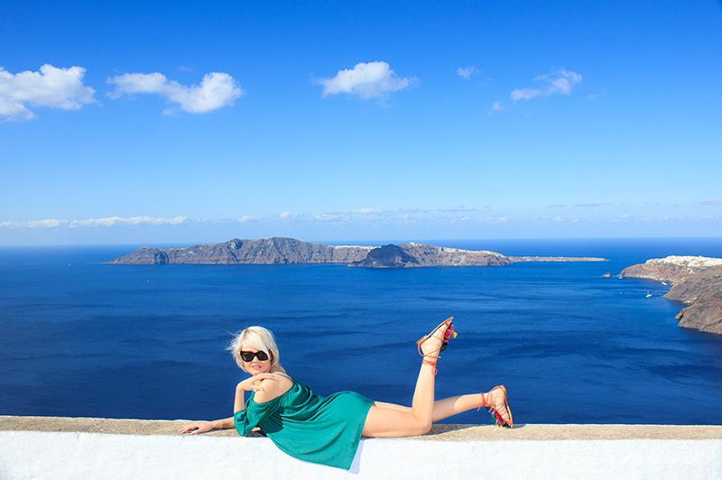 santorini vacation photographer