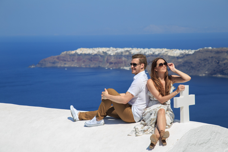 Outdoors Imerovigli Engagement in Santorini