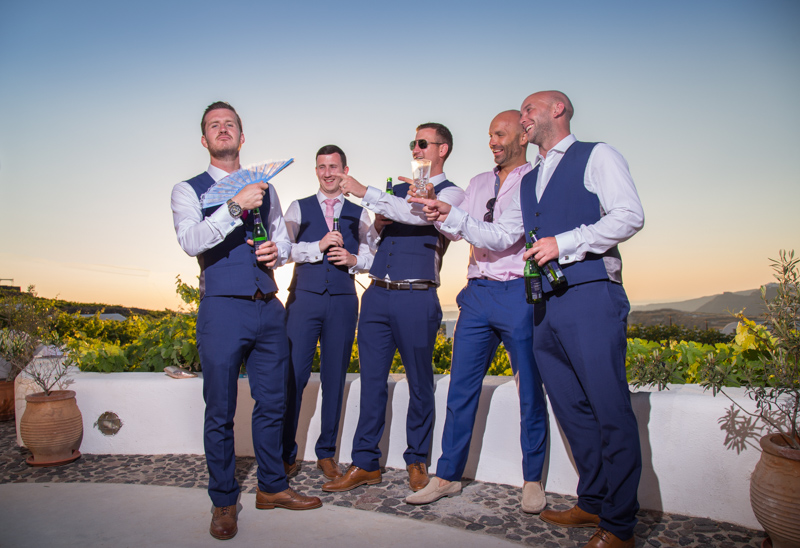 groom best men fun