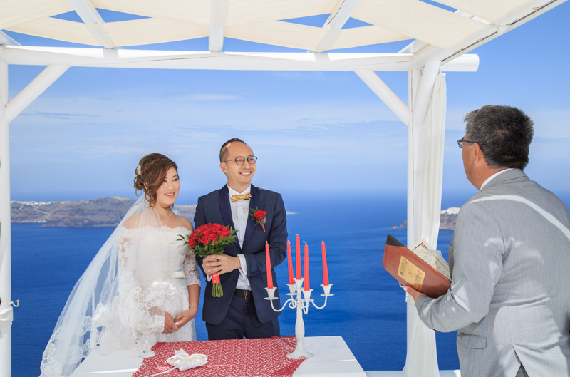 legal wedding- in santorini