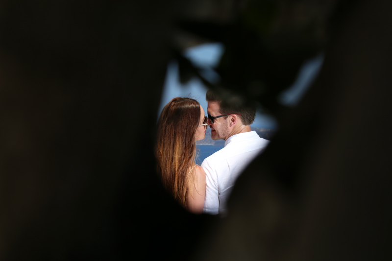 paparazzi style engagement picture