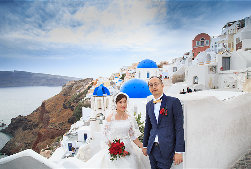 santorini oia wedding