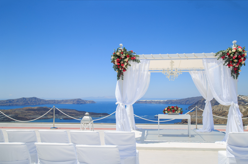 gem wedding venue santorini photography