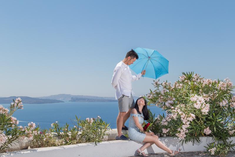 asian chinese engagement umbrella idea