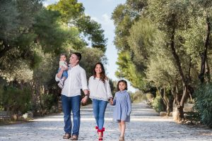 Athens Family Photo Shoot in Greece