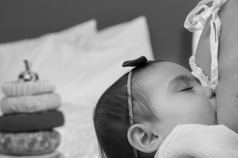 close up breastfeeding-baby