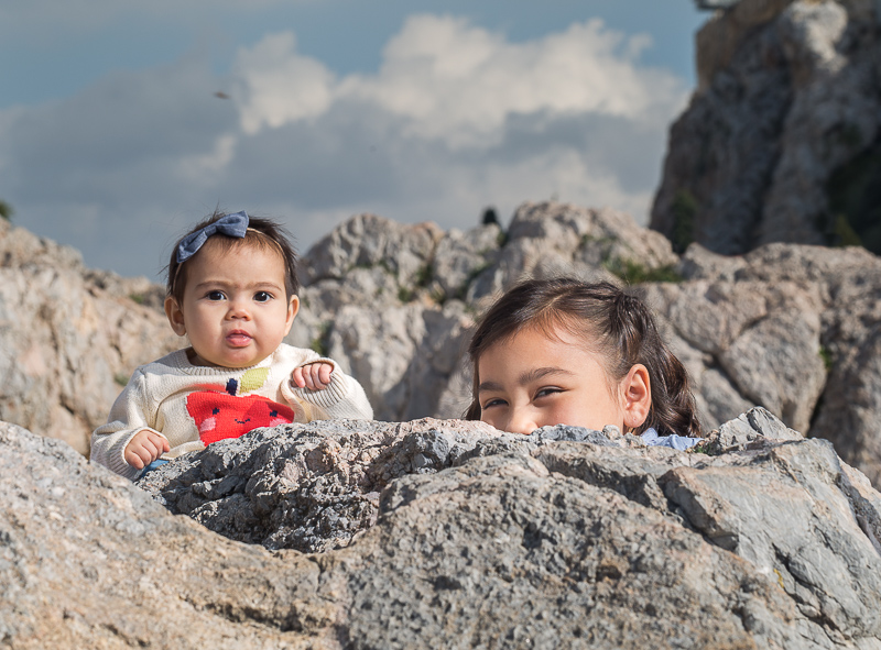 Creative family photographer in Athens