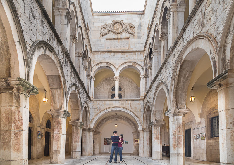dubrovnik engagement photography
