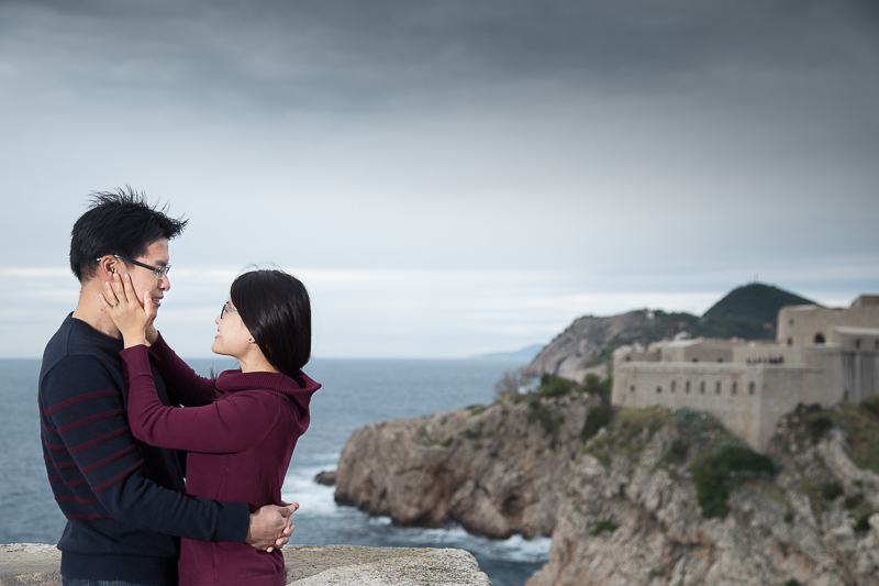 top wedding photographers in dubrovnik