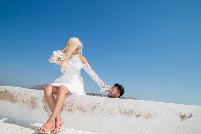 fun engagement photography