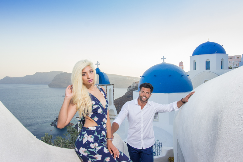 oia engagement photography