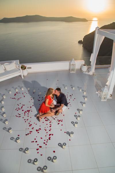 santorini proposal photography
