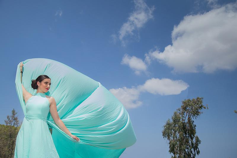 editorial magazine photo shooting dress