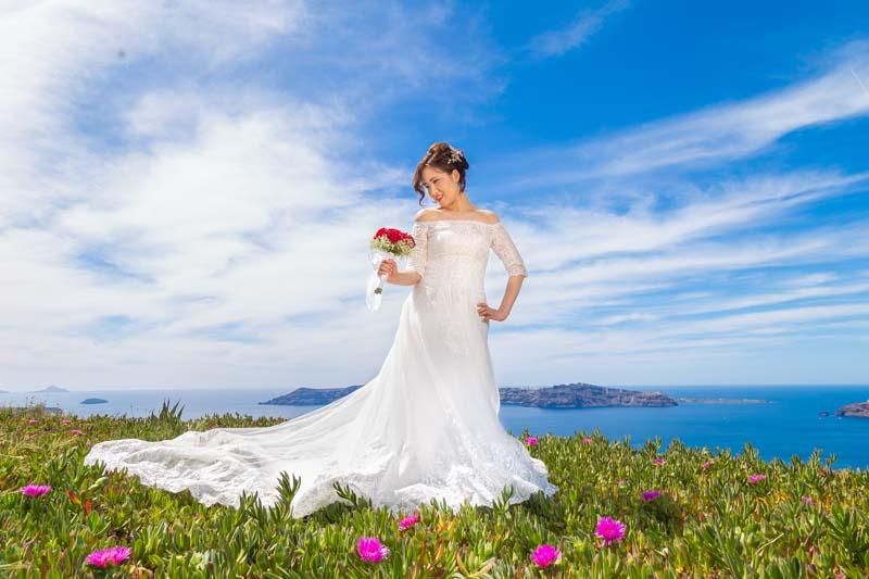 professional wedding photography freelance santorini