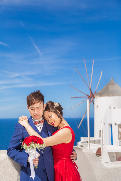 photography session in santorini