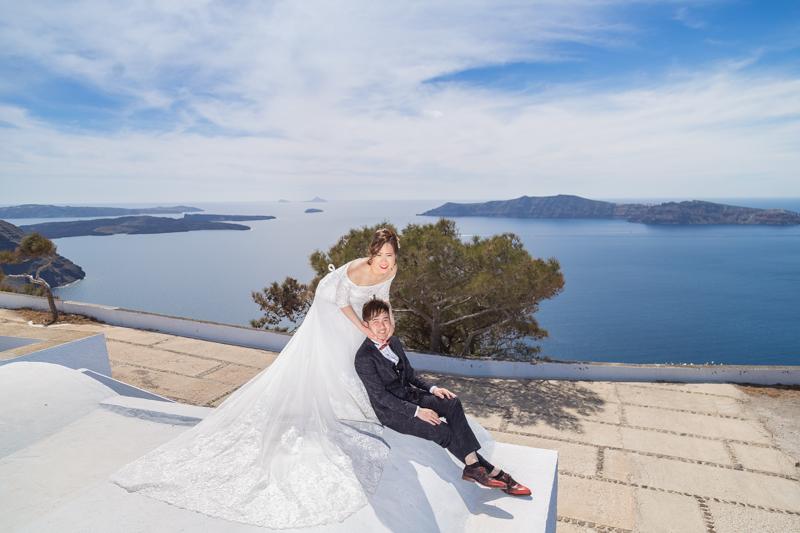 pre wedding photoshoot santorini