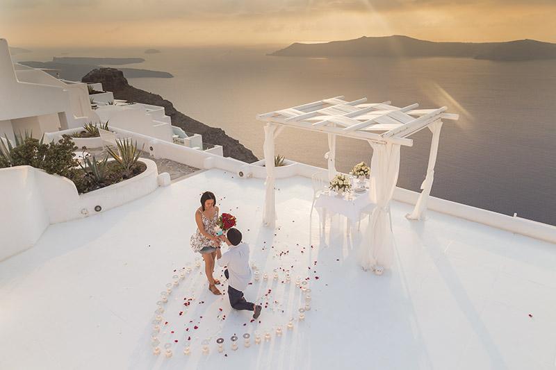 andromeda villas rooftop balcony proposal