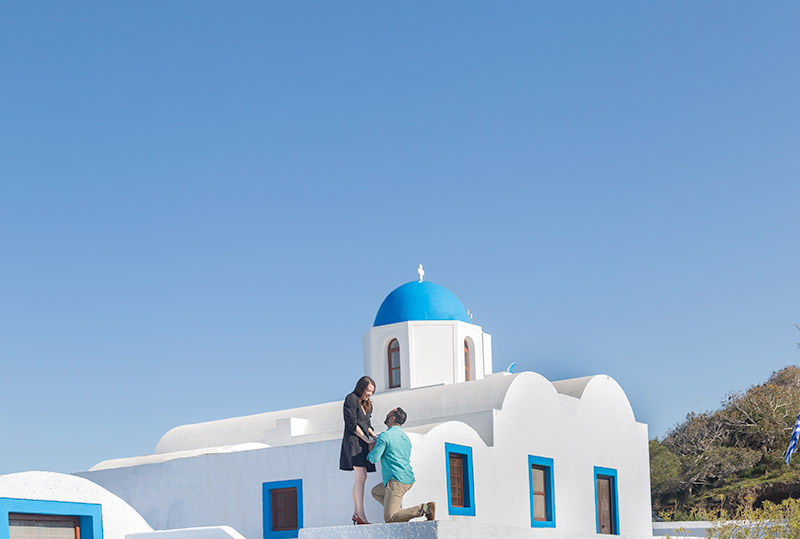 pop question santorini blue dome
