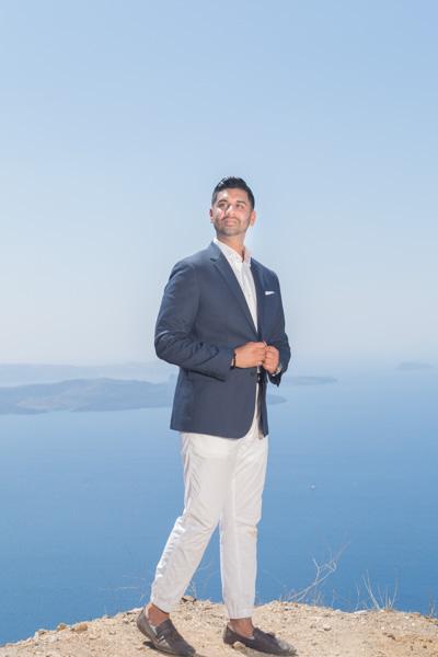 fashion photographer Santorini