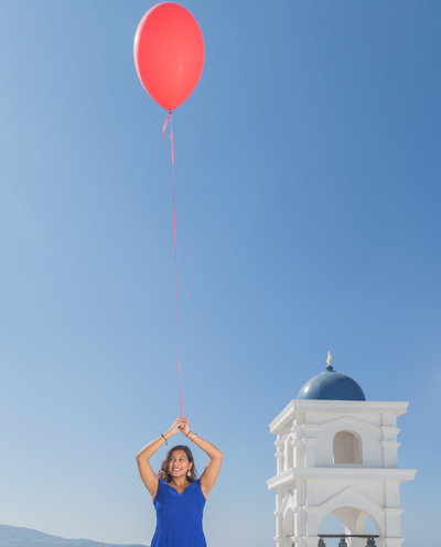 photographer Santorini