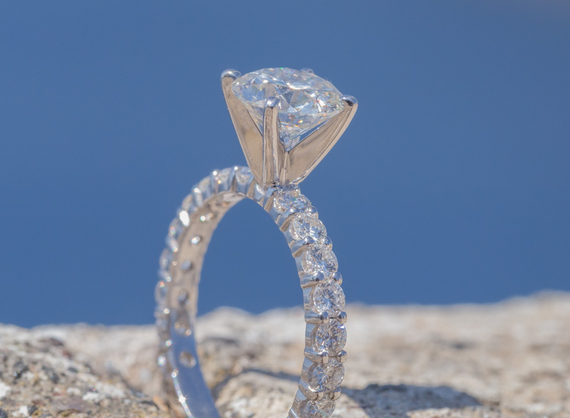 proposal ring santorini