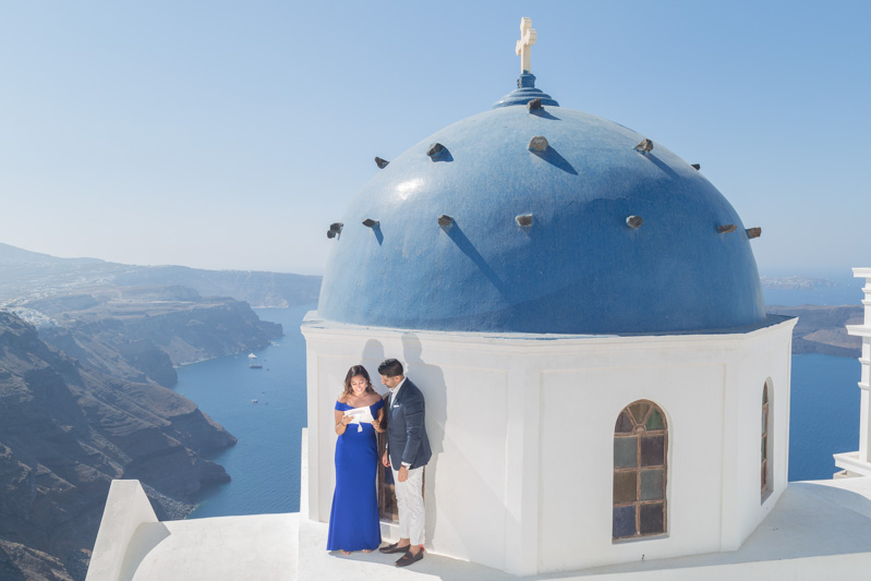 surprise photoshoot greece