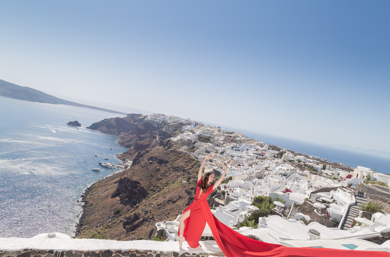 flying dress rental mykonos