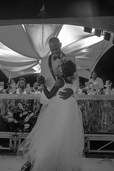 father young daughter dance wedding