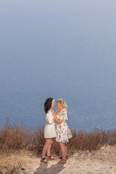 LGBTQ santorini photographer