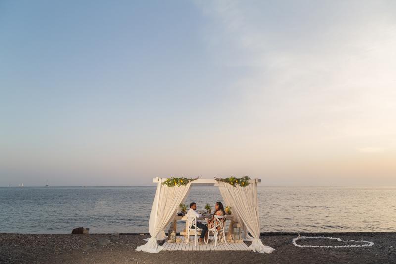 best beach proposal ever