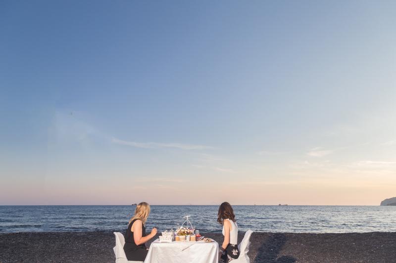 best sunset gay ever proposal santorini