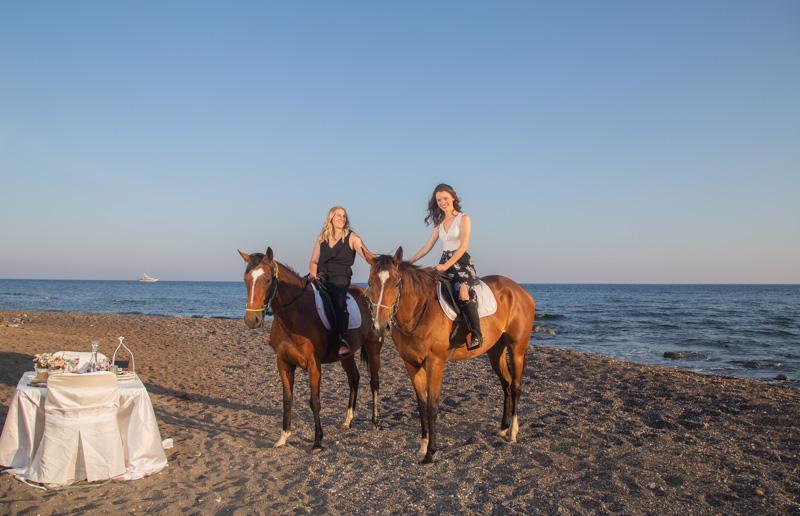 romantic horse riding greece