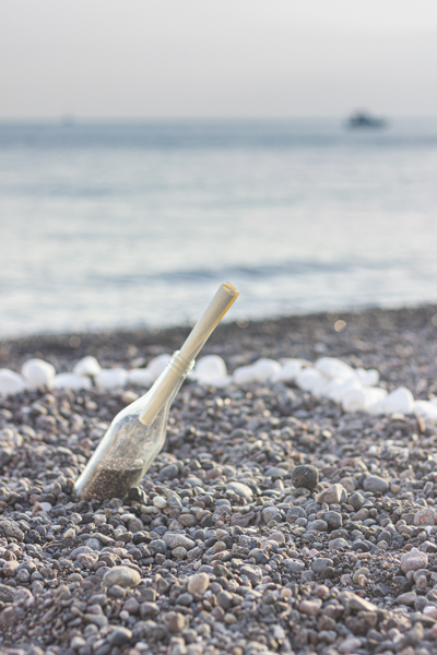 santorini beach proposal ideas