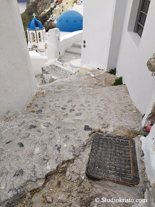 path maintenance santorini
