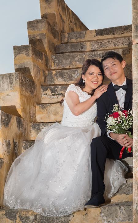 tower wedding greece