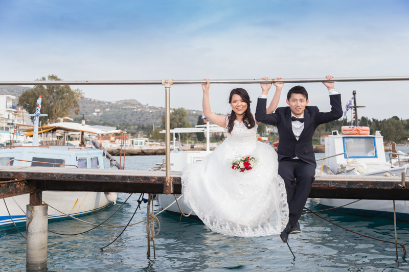 wedding photographer in aegina