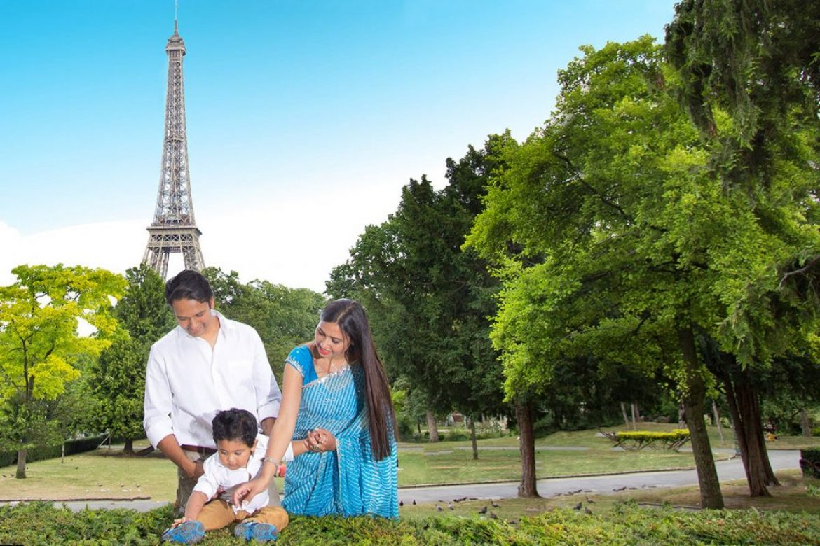 Unforgettable family photography in the city of light – Paris